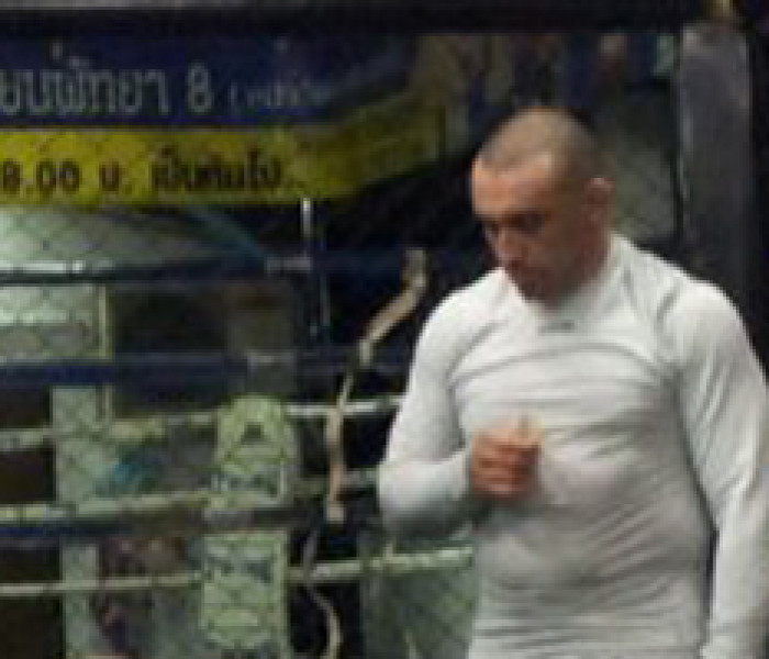 CHRISTIAN DAGHIO training MMA