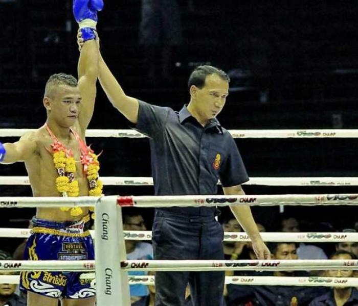 Sitichai Sitsongpeenong nuevo campeon de Tailandia  67 Kg.