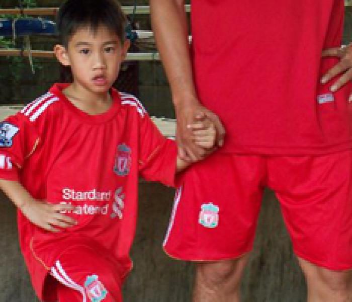 Somrak 45.000 Euro a match auspica guadagni migliori al figlio che punta al calcio