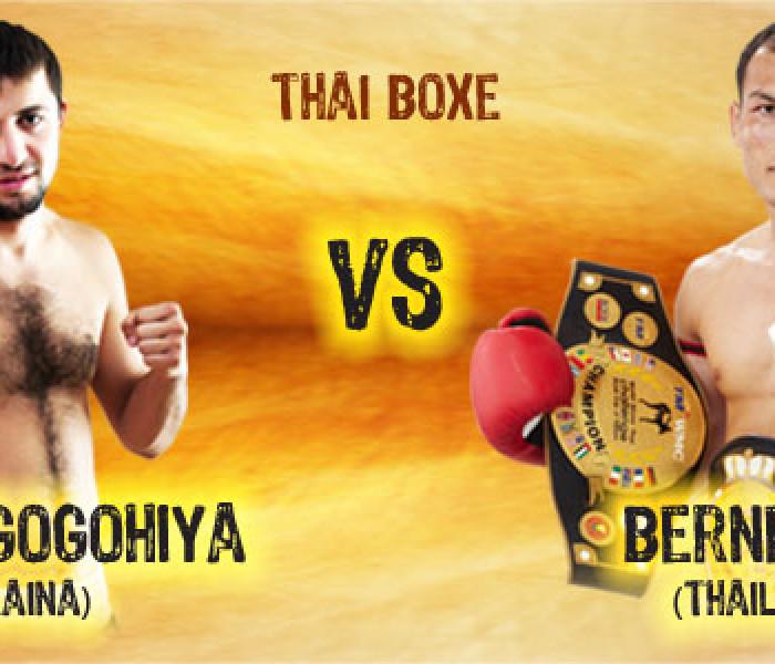Berneung a Thai Boxe Mania 2012