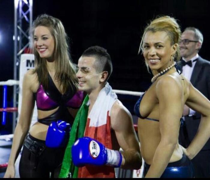 Gery Bavetta batte per TKO Paulo Da Silva Bruxelles