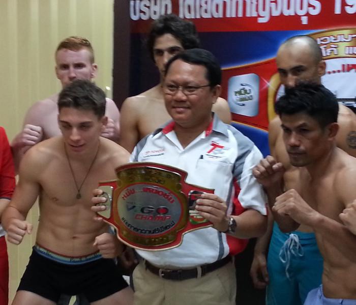 Toyota Marathon – Muay Thai – Kanchanaburi 31 May 2013