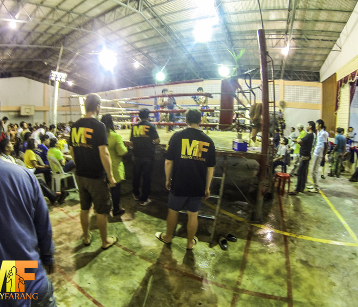 Il team Muay Farang Sempre in Prima Fila!