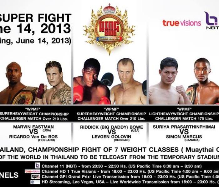 Great Muay Thai international event at Pattaya