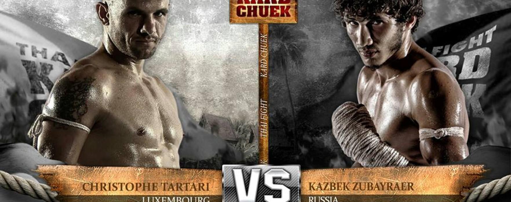 Third episode of Thai Fight Kard Chuek
