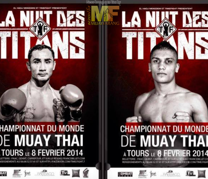 "Update: Sam-A Kaiyanghadaogym, Youssef Boughanem, Mabel etc at ""La nuit des Titans"" France 8/2/2014"