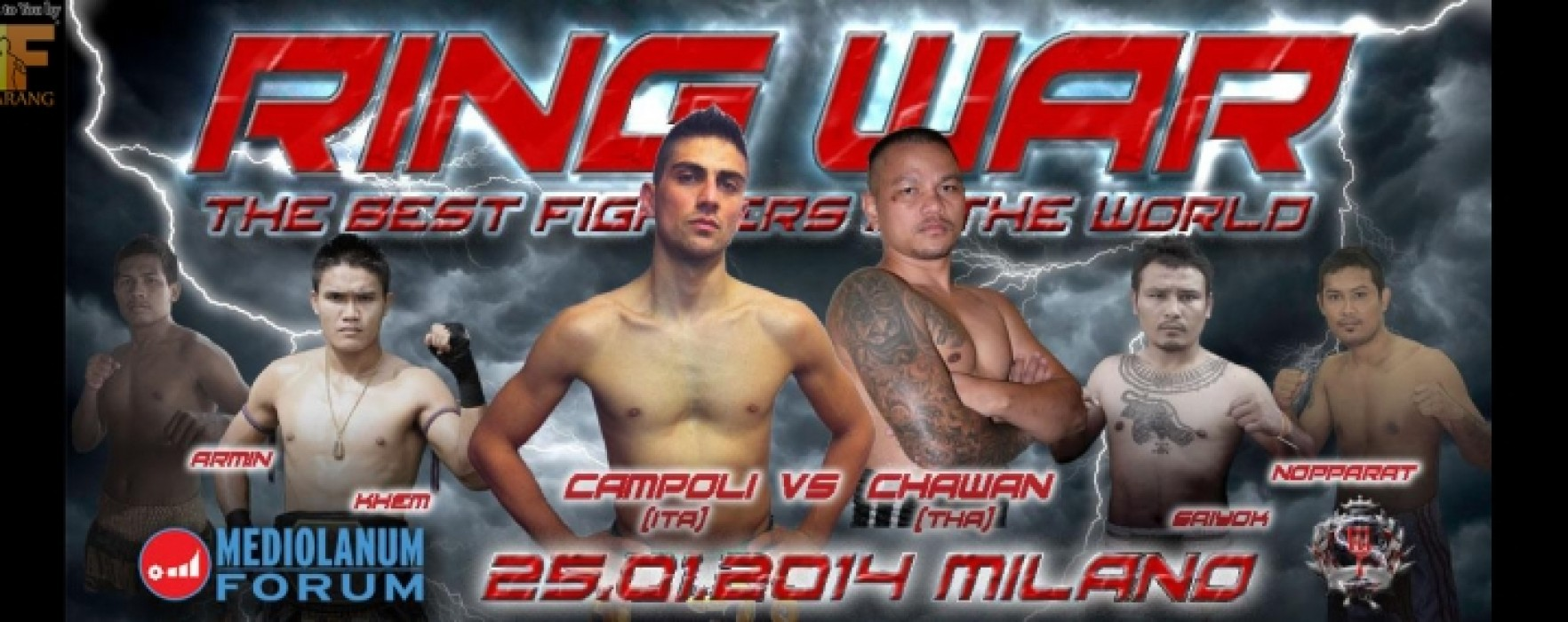 Risultati Ring Wars – Milano – 25-01-2014