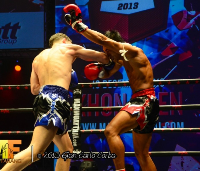 Card: Max Muay Thai Live – Sunday 15th June 2014