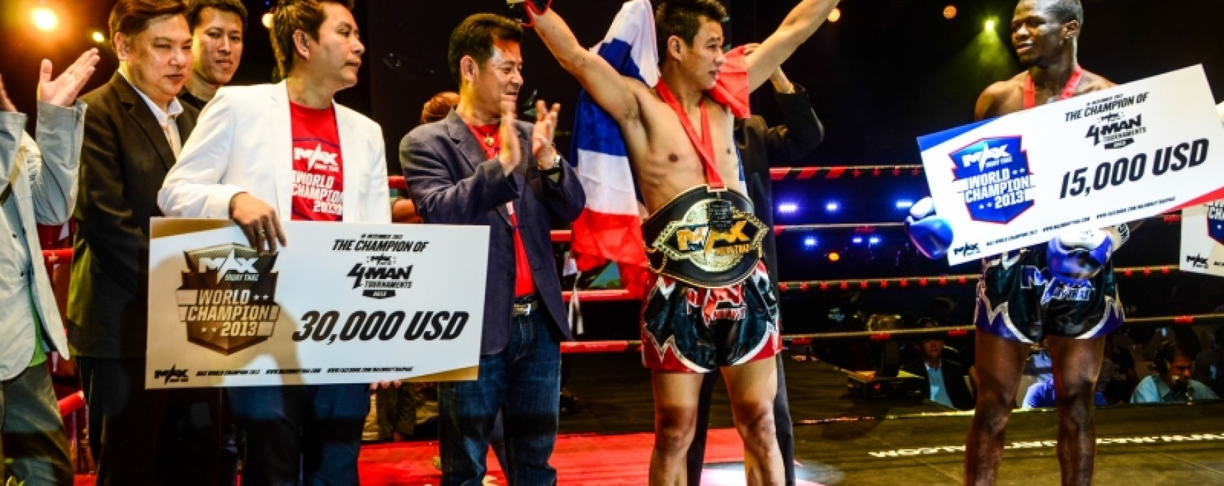 Results and Photo Gallery of Max Muay Thai Khon Kaen 10-12-2013