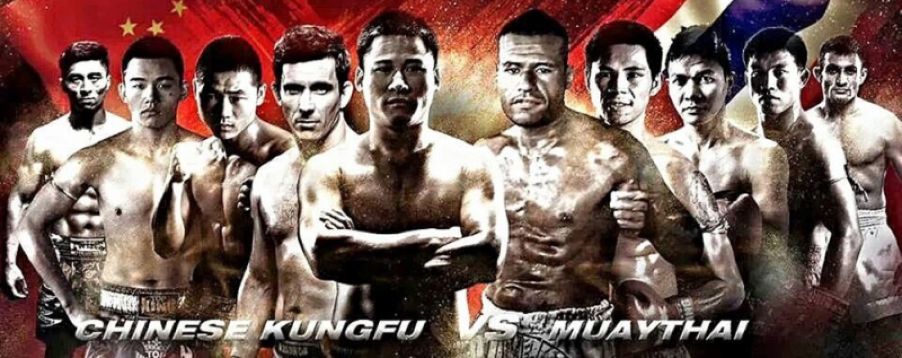 Kunlun Fight 1 World Tour: Chinese Kungfu vs Muay Thai with Kulebin, Aekpracha and many others