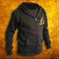 Hoodie Black THAI Fighter ZIP