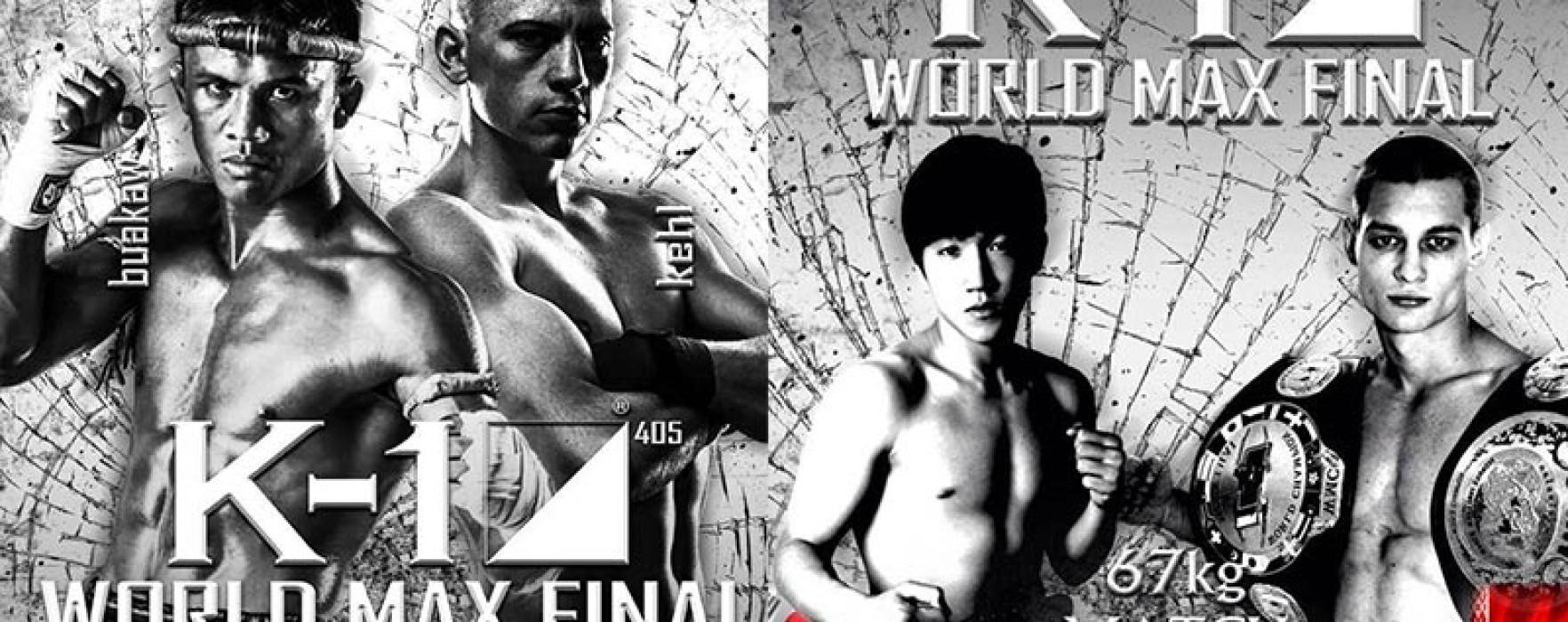 Aggiornamento: La finale del K-1 World Max 2014 il 26 Luglio a Pattaya con Buakaw vs Kehl