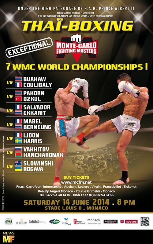 montecarlo fighting masters final card muay farang