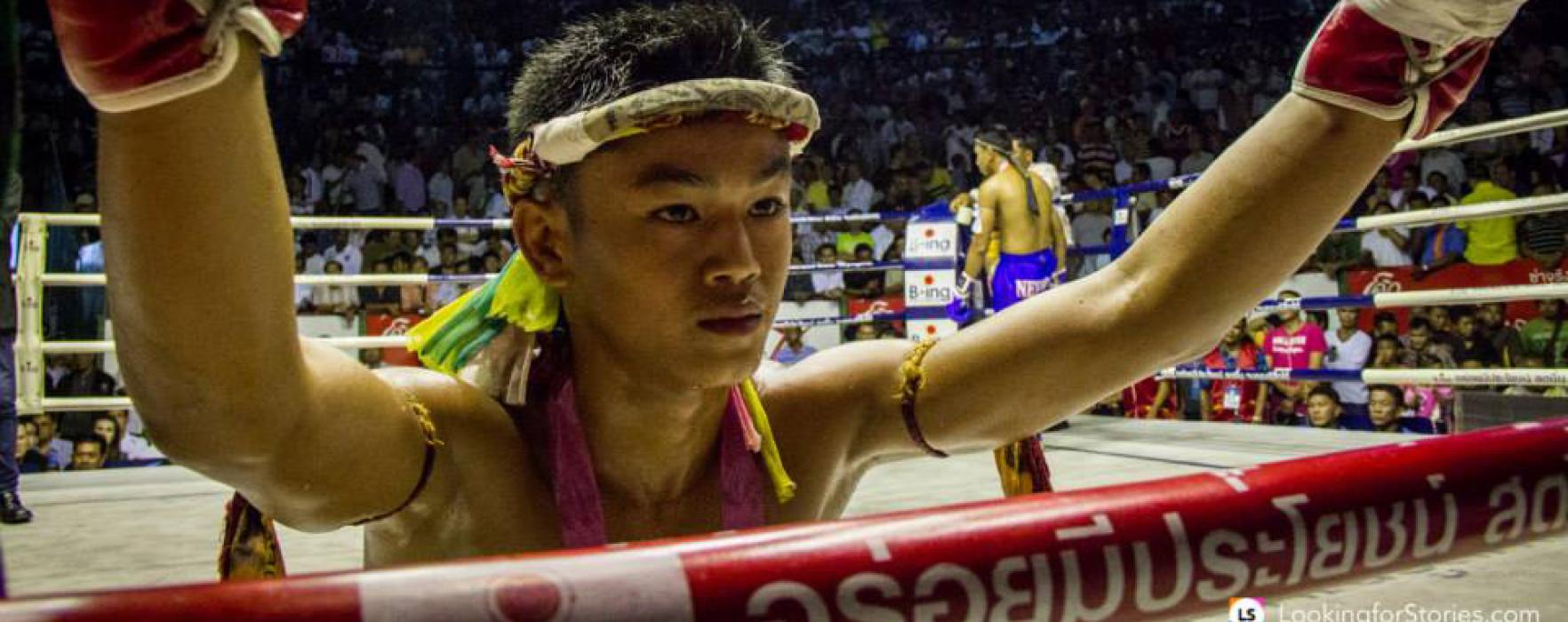 Video: Sangmanee Sor Tienpo vs Thaksinlek Kiatniwat – Rajadamnern – 7th May 2014