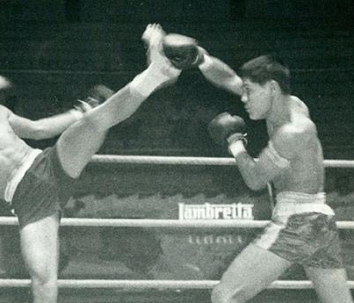 Video: Muay thai in bangkok during the 50's