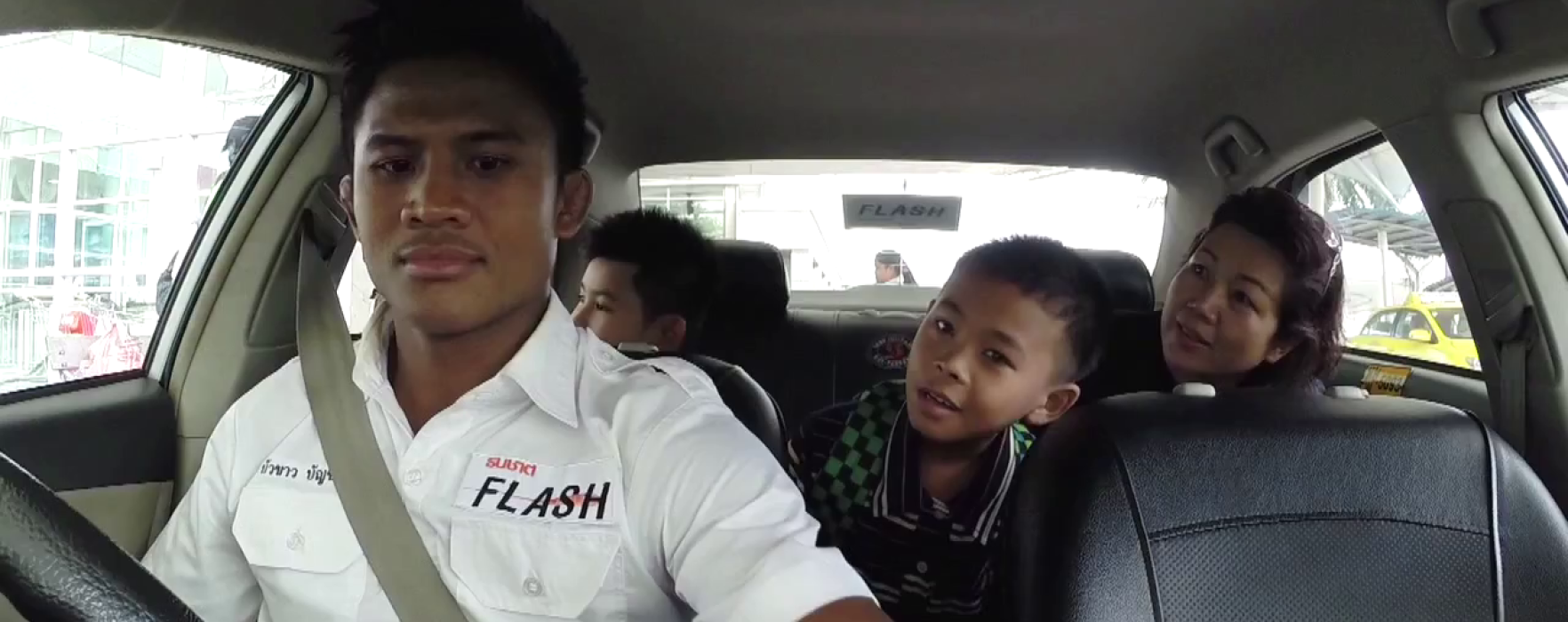 What happens if you take a TAXI and the driver is BUAKAW?