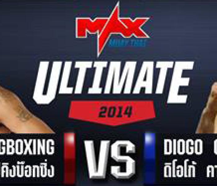Card: Kem e Sitthichai Sitsongpeenong, Diogo Muay Farang – Max Muay Thai 06/07/2014