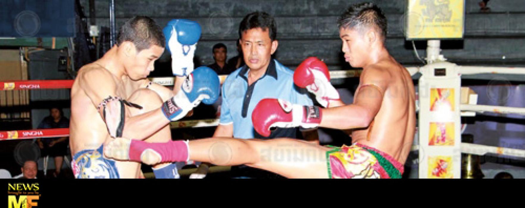 Video: Sangmanee Sor Tienpo vs Thaksinlek Kiatniwat – Rajadamnern – 02/06/2014
