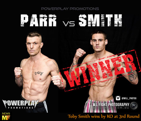 Toby Smith wins by KO over JWP - Muay Farang News2