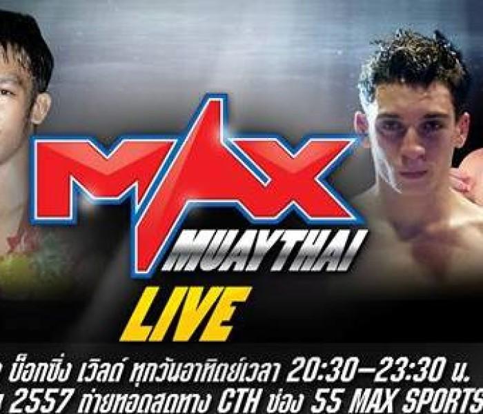 2 Italiani al Max Muay Thai Live 22-6-14