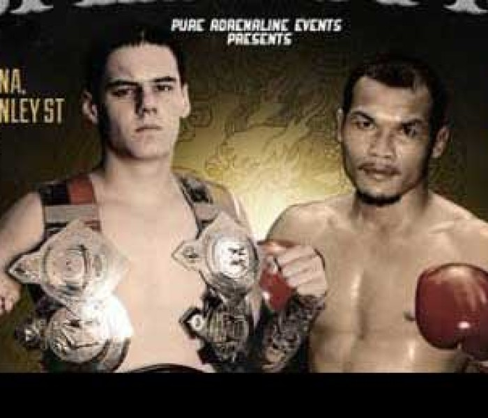 Toby Smith vs Berneung Topkingboxing and Petchboonchu at Domination MT – Perth, Australia