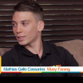 Mathias Gallo Cassarino intervistato da Good Morning Pattaya per Muay Farang