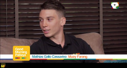 Mathias Gallo Cassarino interviewd by Good Morning Pattaya - Muay Thai - Muay Farang - Traininig _ (2)
