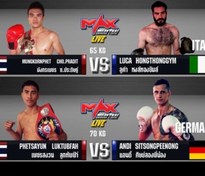 Flash News: Andi Rögner win point at Max Muay Thai Weekly – 27/07/2014