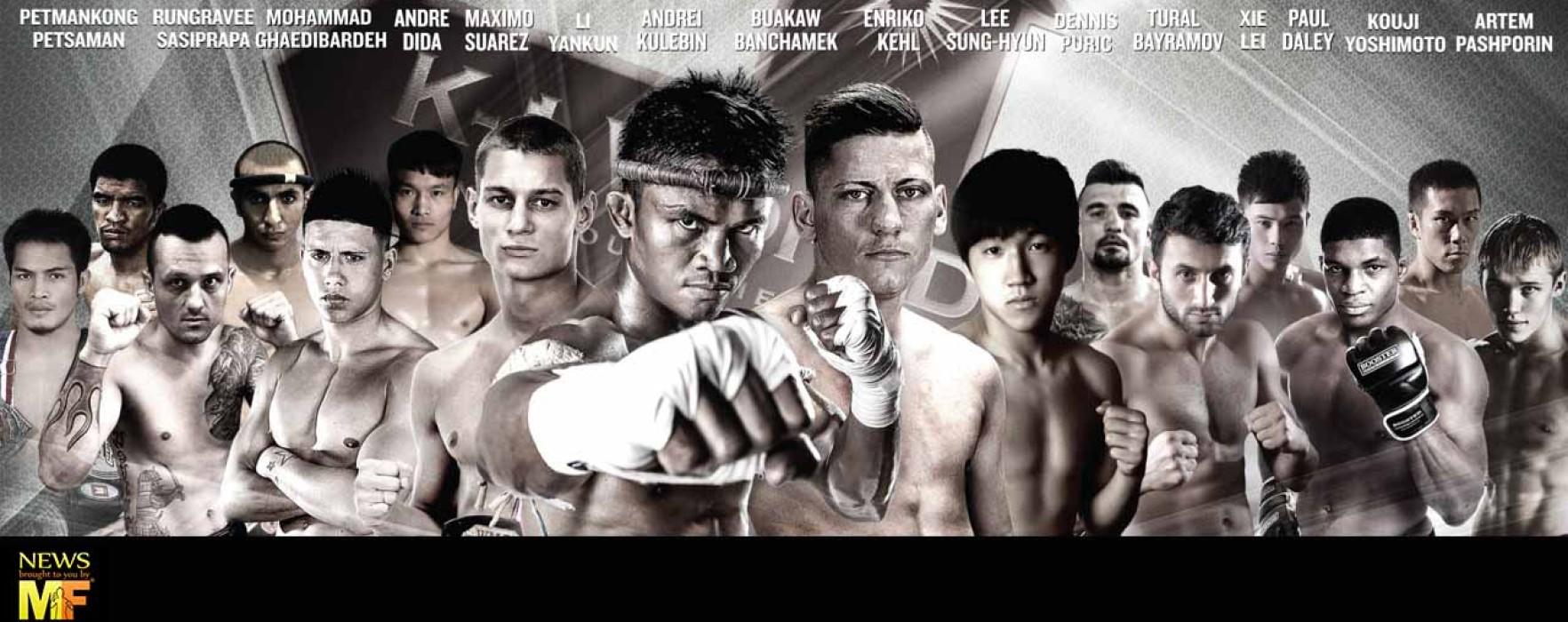 Card: K-1 World Max Final Pattaya – Buakaw, Kehl, Rungravee, Kulebin ect – 11th October 2014