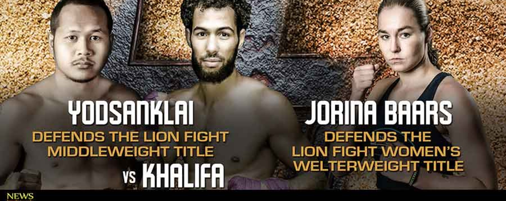 Yodsanklai Fairtex vs Salah Khalifa at Lion Fight 18 – 5th September – USA