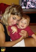 intervista-elisa-qualizza-lucio-collovigh-kunlun-fight-9-legend-mulah-muay-thai-kickboxing-champion-valentina-schevchenko_baby-young-mother