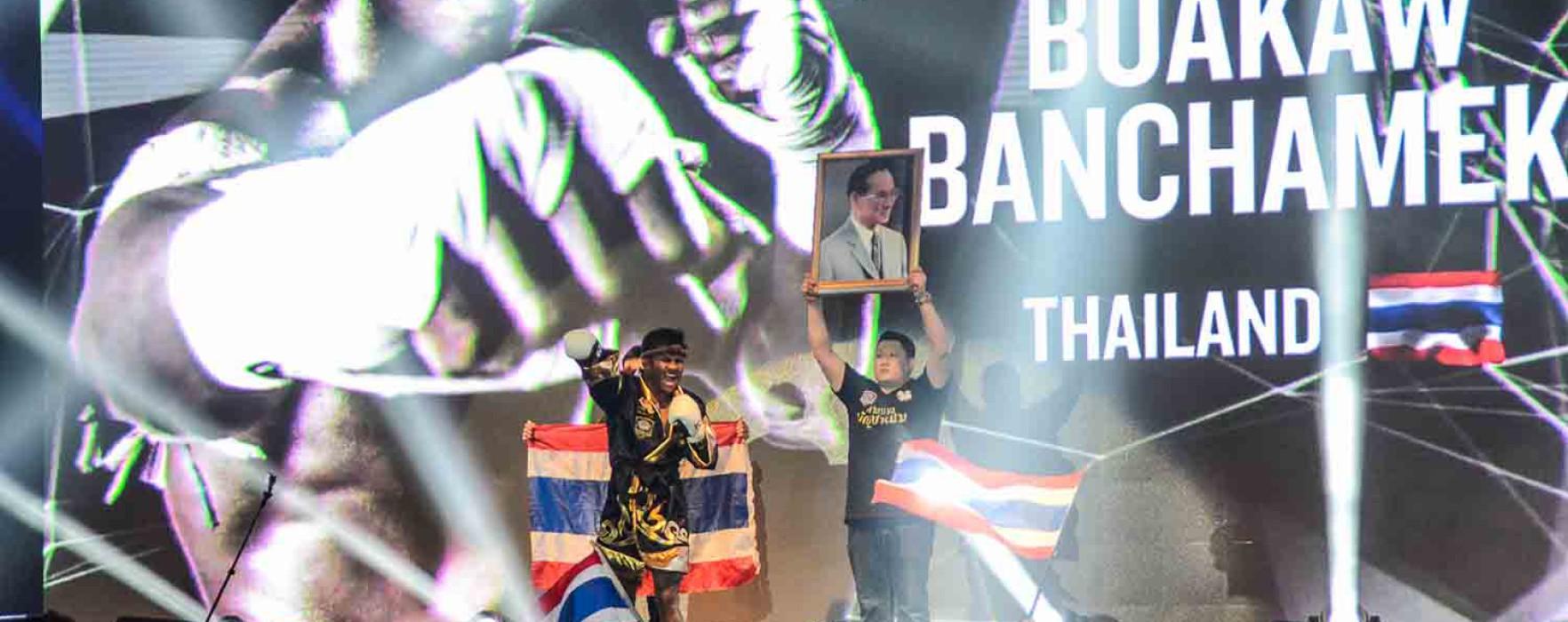 Buakaw abbandona il ring del K1 e Khel è il nuovo campione K1 Max