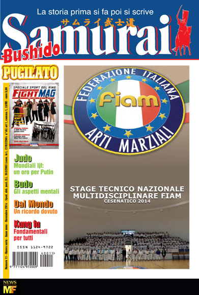 Samurai Bushido Novembre 2014 Muay Thai Martial Arts Italian Magazine