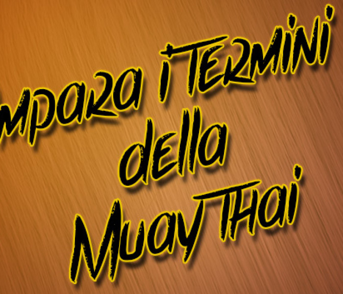 Learn the Muay Thai definitions