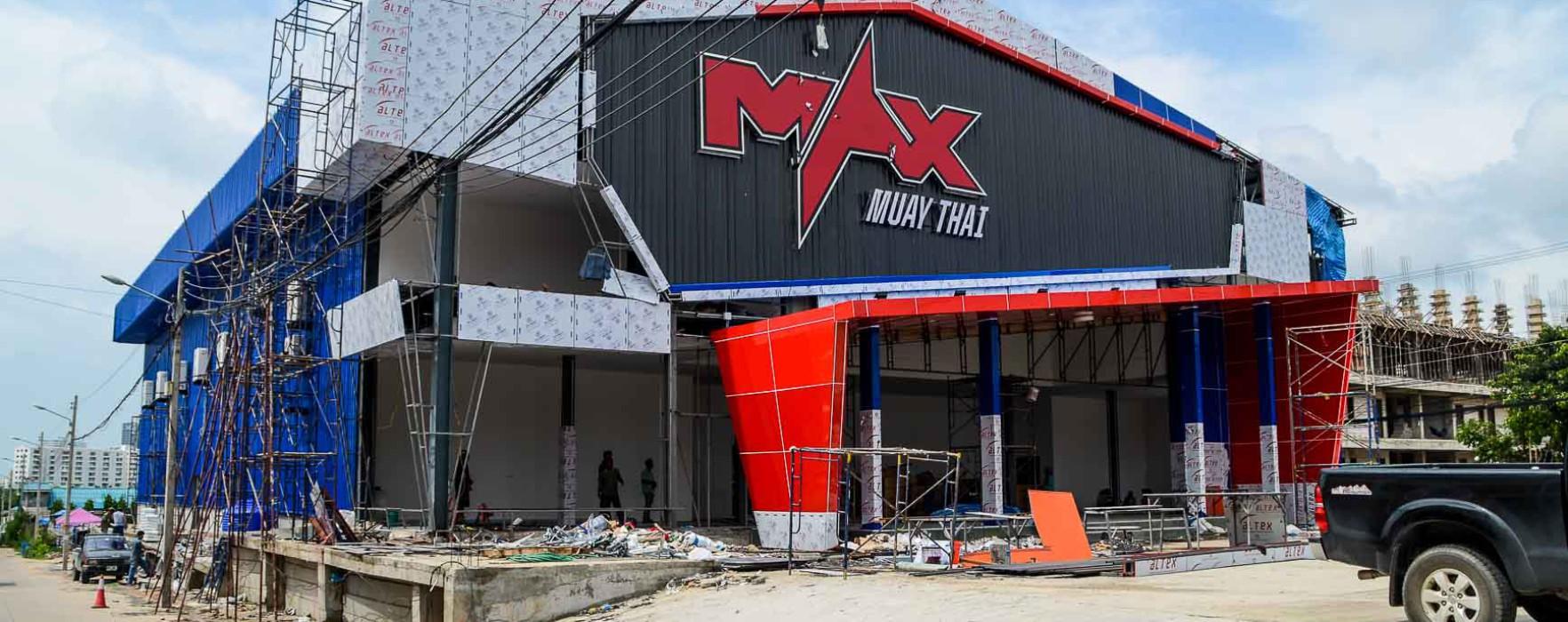 Exclusive pictures of the brand new Max Muay Thai Stadium Pattaya