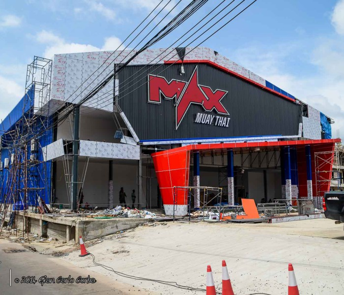 Exclusive pictures of the brand new Max Muay Thai Stadium Pattaya