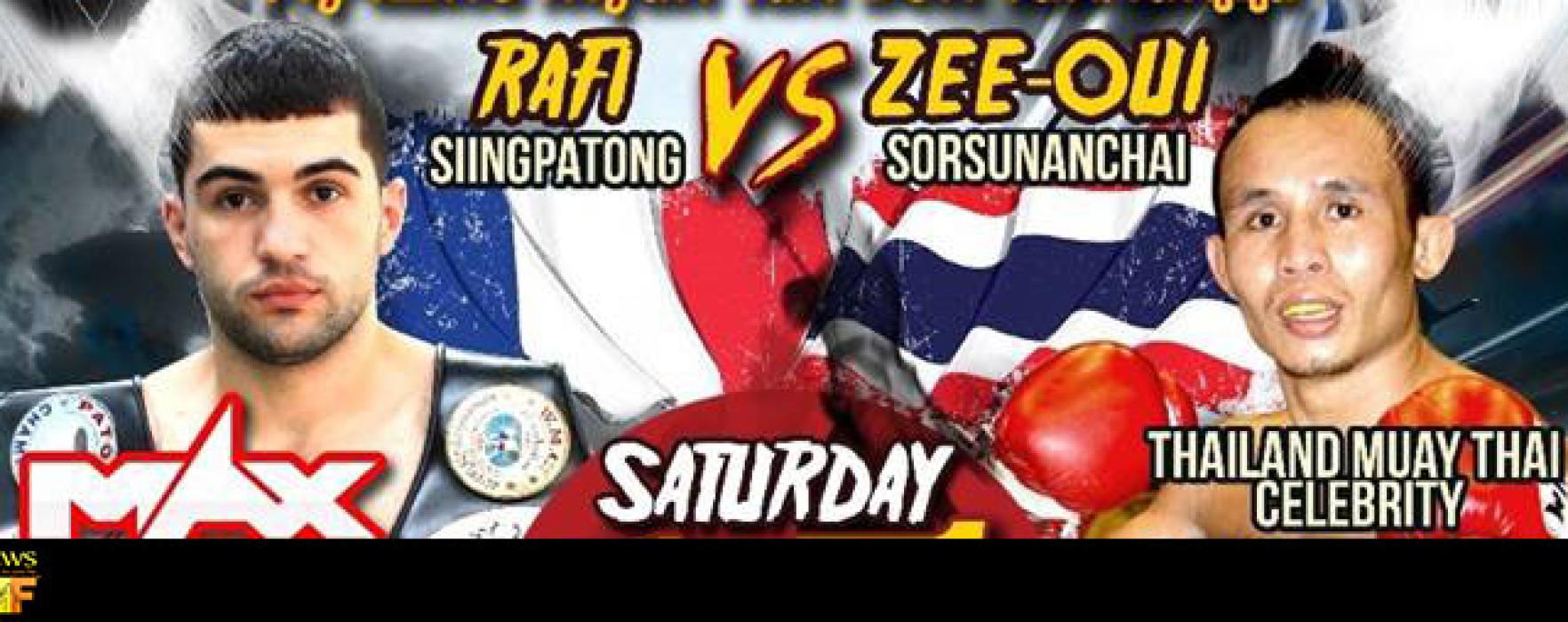 Seeoui Sor Sunantachai vs Rafi Singpatong – Patong Boxing Stadium – 15th November 2014