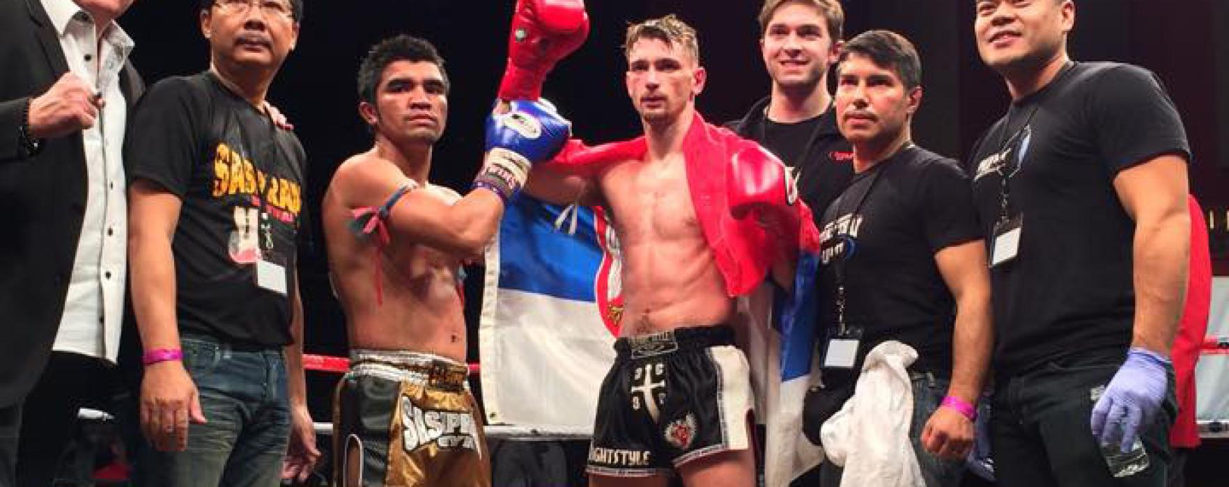 Video: Ognjen Topic vs Rungravee Sasiprapa – Lion Fight 11 – 21st November 2014