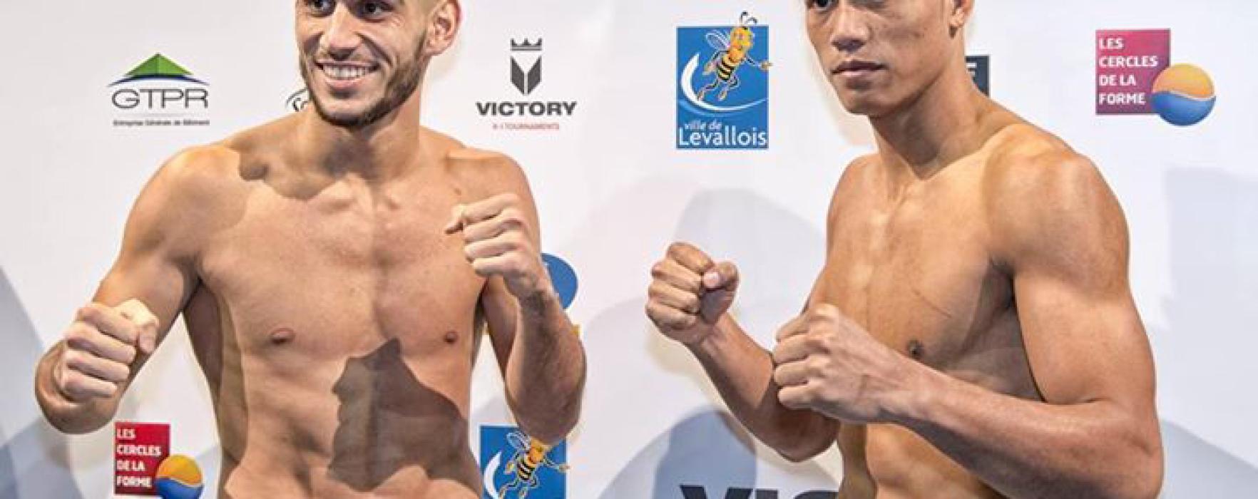 Risultati: Sitthichai Sitsongpeenong batte Dylan Salvador – Victory Sports League – Parigi – 13 Dic 2014