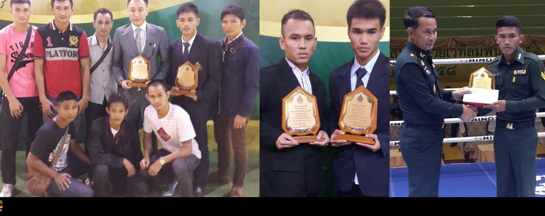 Video: Wanchalong vs Chaisiri awarded as fight of the year at Lumpinee St. awards 2014
