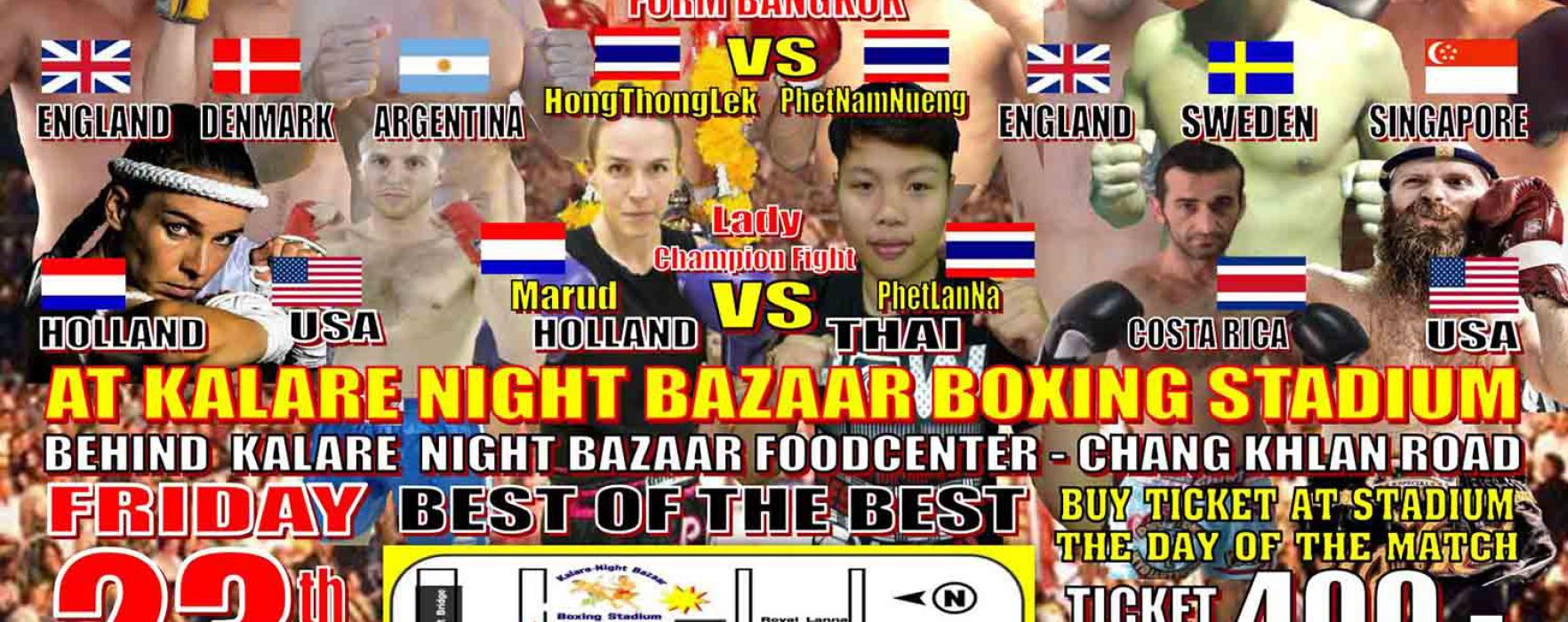 First event promoted by M3 & Muay Farang