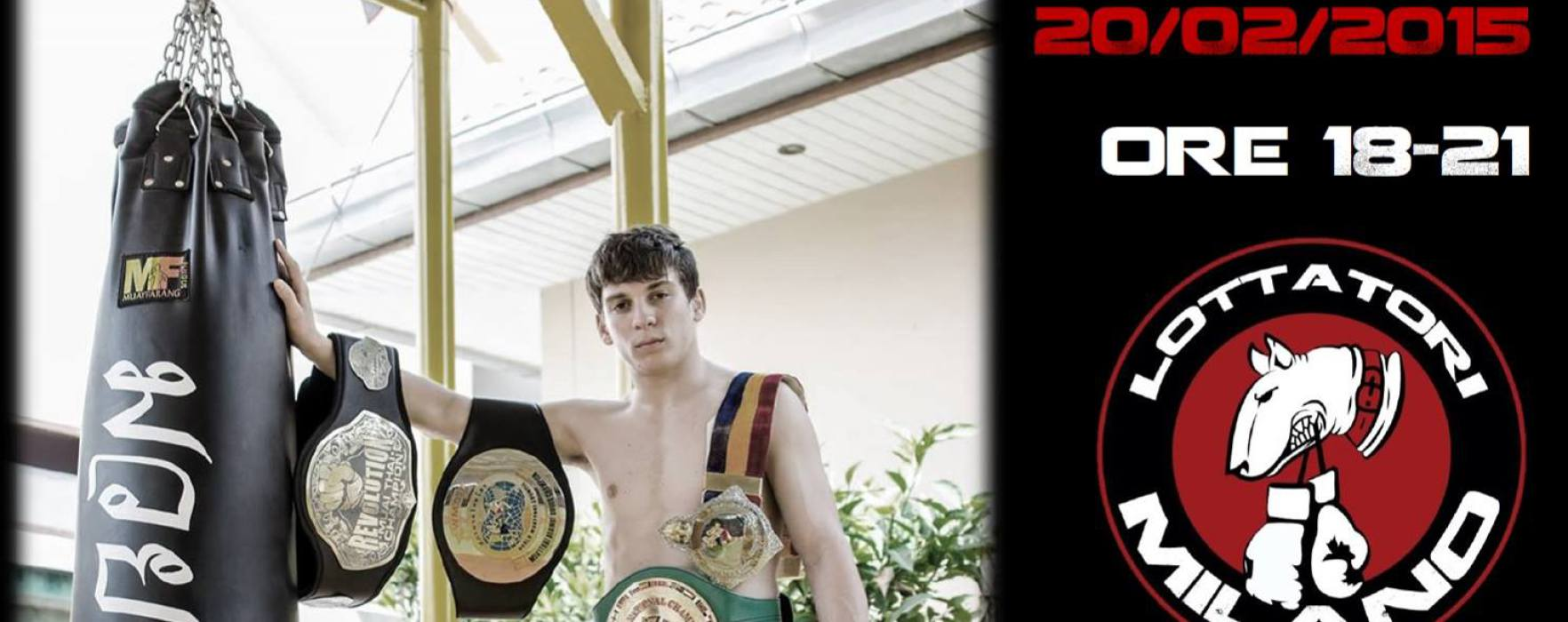 Mathias visits one of the Muay Thai temples of Milan