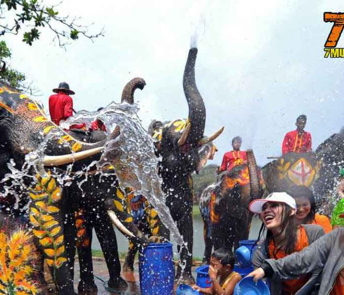 """""""Songkran"""" the Thai New Year – Muay Thai and Water Festival"""