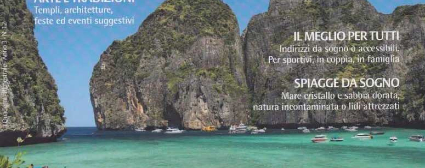 "The 7 Muay Thai Gym & Beach Resort on the Italian Magazine: ""Diari di Viaggio: Thailandia"""