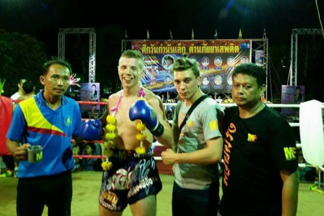 Video: Ginga Muay Farang vs Kawlasinlek Sak Arun – Trat Province Thailand – 1st March 2015
