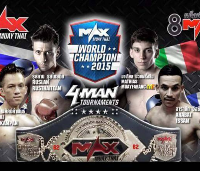 Flash News: Mathias Gallo Cassarino nel torneo -62kg del Max Muay Thai – 05/03/2015