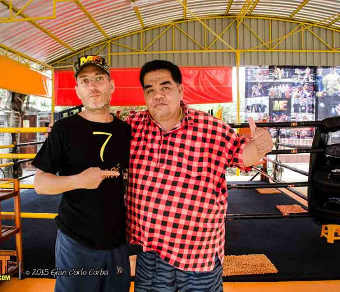 """Important meeting at """"7 Muay thai Gym"""""""