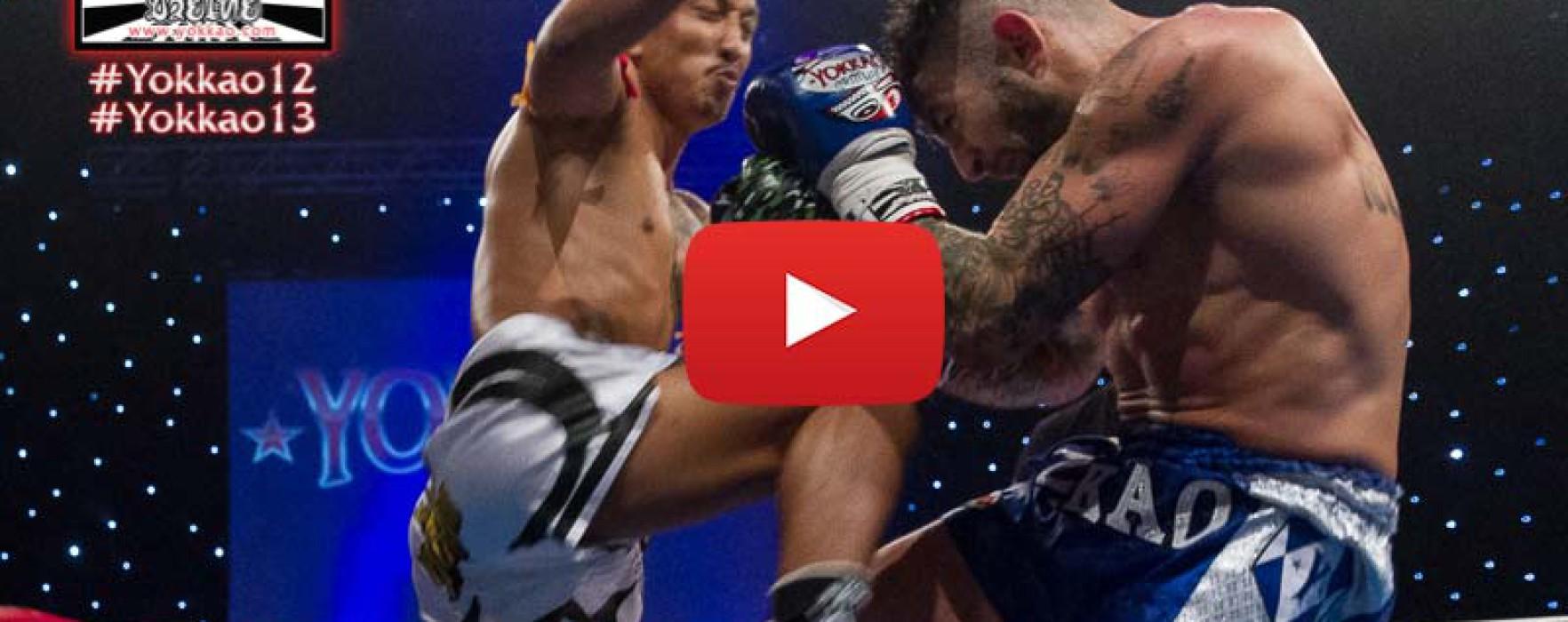 Video: Pakorn PKSaenchaimuaythaigym vs Liam Harrison – Yokkao 13 – 21/03/2015