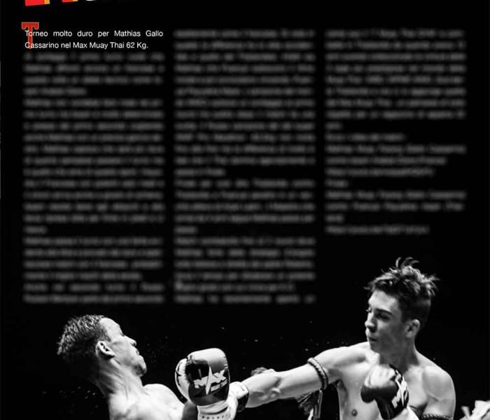 Samurai è in edicola e questo mese un fantastico articolo su Mathias Gallo Cassarino