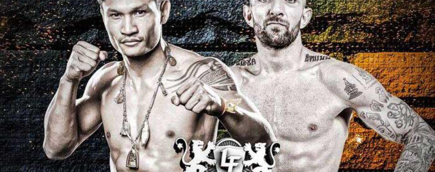 Card: Liam Harrison vs Malaipet Sasiprapa – Lion Fight 23 – 31 Luglio 2015 – California, USA